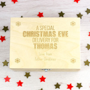 Personalised Christmas Eve Box - keepsakes