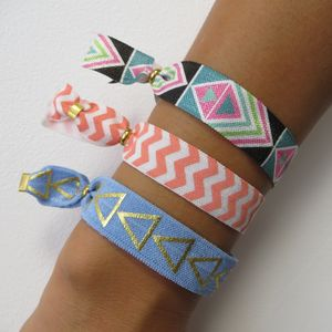 Colourful Summer Mix And Match Stretch Bracelets - bracelets & bangles