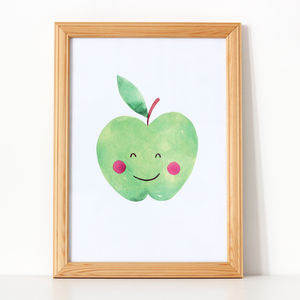 Apple Nursery Print - pictures & prints for children