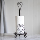 Iron Standing Kitchen Towel Holder