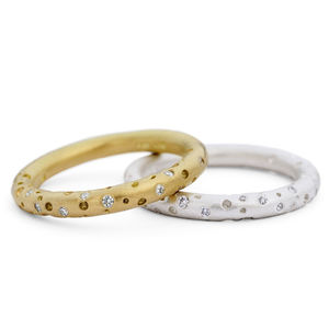 Halo Diamond Eternity Ring