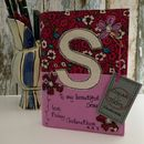 Personalised Notebook, Bright Pinks