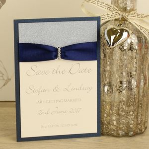 Luxury Sparkle Save The Date - what's new