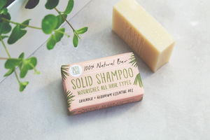 100% Natural Solid Shampoo Lavender And Geranium