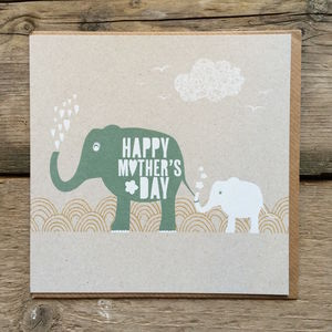 Happy Mother's Day Elephants - mother's day cards