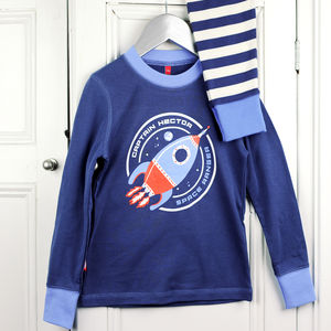 Personalised Space Ranger Pyjamas - winter sale