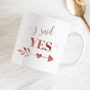 Wedding Proposal Mug