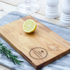 Personalised 'Birthday' Cheese/Chopping Board - new in home