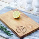 Personalised 'Birthday' Cheese/Chopping Board