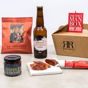 Spicy Man Box Beer - gifts for him sale