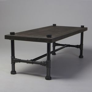 Classic Industrial Style Coffee Table - coffee tables