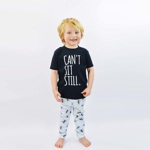 'Ants In Your Pants' T Shirt And Trouser Set - more