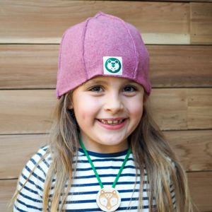 Child's Organic Cotton Fleece Hat