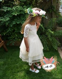 Freya ~ Flower Girl | Christening Dress