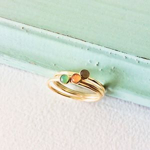 Delicate Solid Gold Ring - rings