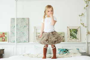 Coffee Tutu Skirt