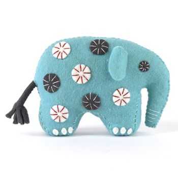 Blue Elephant Felt Craft Kit
