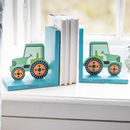 Personalised Tractor Bookends