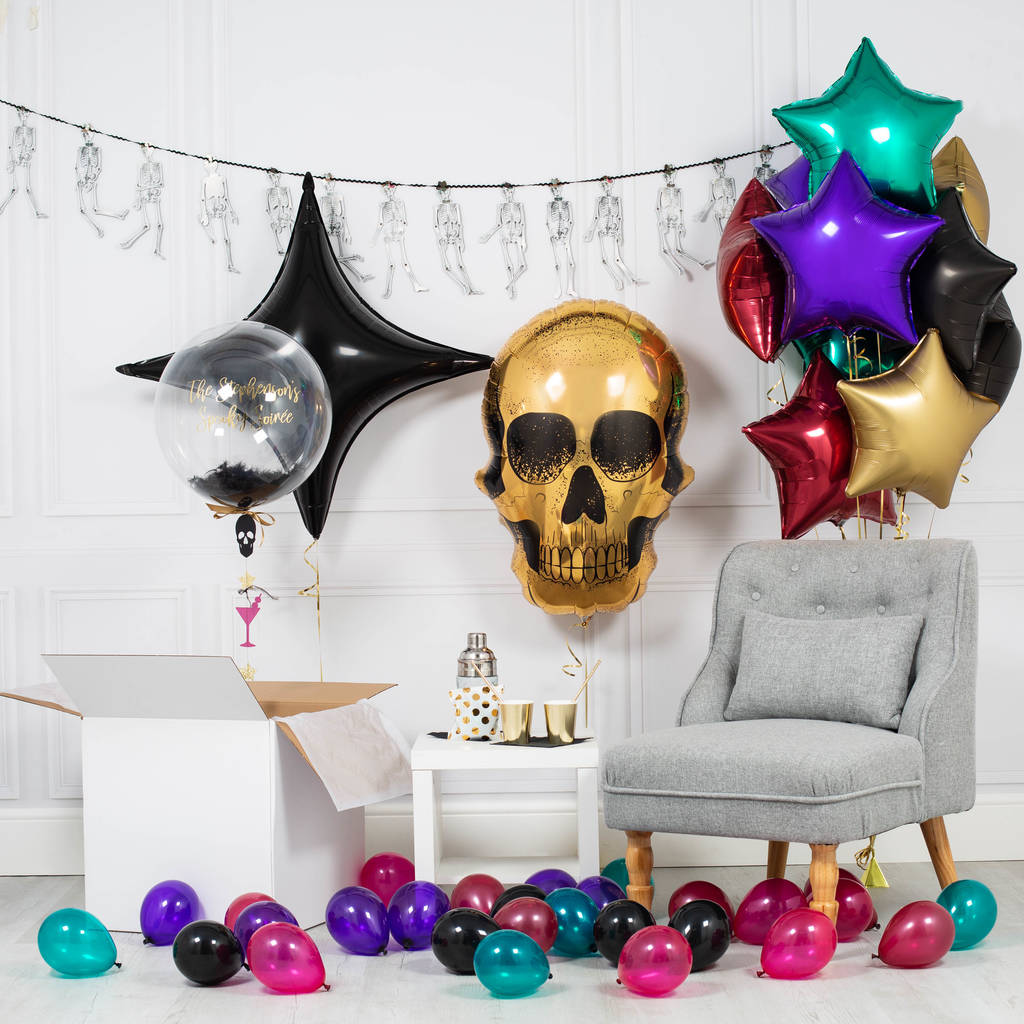 Inflated Glitz And Ghoul Halloween Party Package
