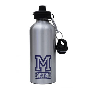 Personalised Varsity Water Bottle