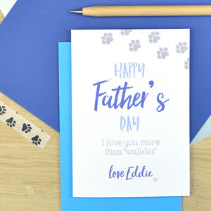 Father's Day Card From The Dog - father's day cards