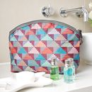 Stepping Stones Half Moon Wash Bag