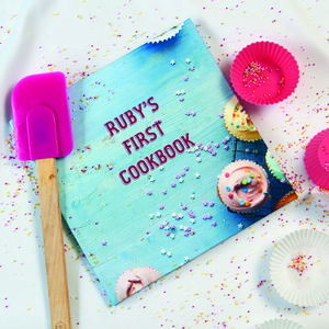 Personalised Kids' First Cookbook