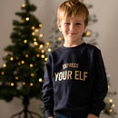 Express Your Elf Kids Christmas Jumper