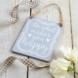 Make You Happy Sign - home accessories
