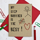 Best Step Brother Card