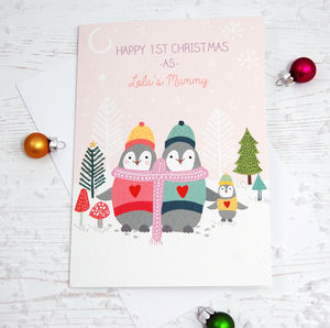 Personalised First Christmas Card - cards & wrap