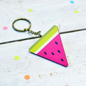 Colourful Watermelon Keyring