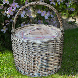 Grey Chiller Basket - camping