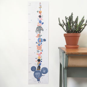 Mouse Height Chart - children's room