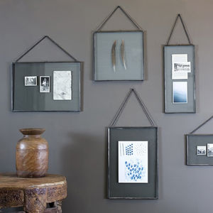 Gigantic Antique Zinc Frame - home accessories