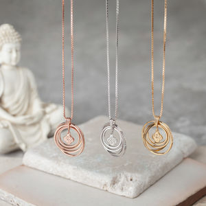 Infinity Synergy Necklace In Sterling Silver - new in jewellery
