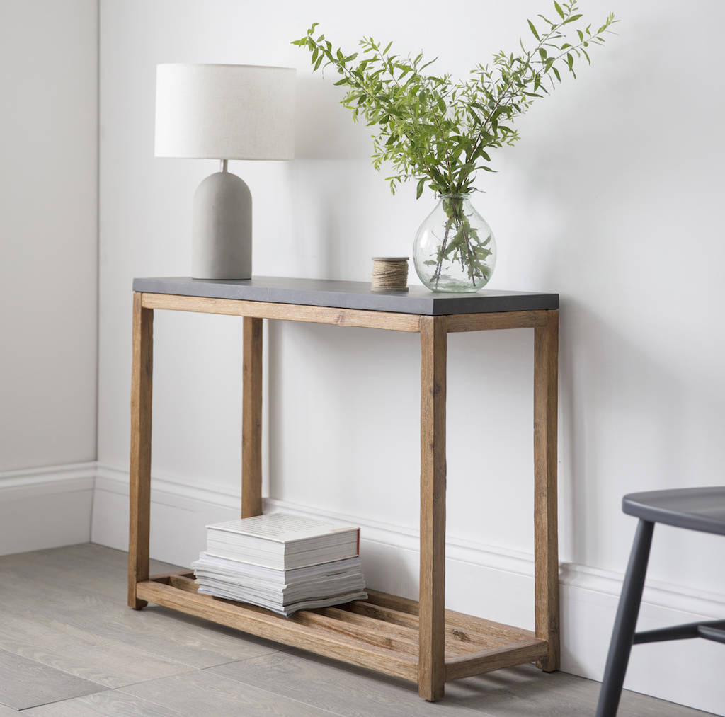 Chilson Console Table By Idyll Home  notonthehighstreet.com