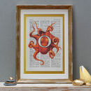 Personalised Octopus Letter Print