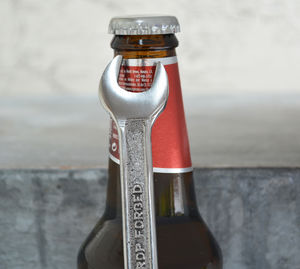 Spanner Bottle Opener - kitchen