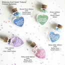 Personalised Love Heart Token