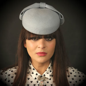 Lynn Felt Pillbox Hat. Choose Your Colour