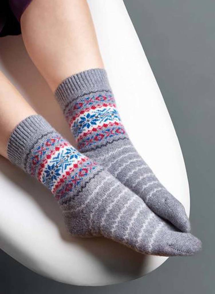 c8377337c Women S Cashmere Bed Socks By British Boxers Notonthehighstreet