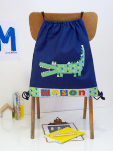 Childrens Crocodile School Bag