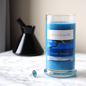 Ocean Breeze Scented Hidden Ring Candle - candles & home fragrance