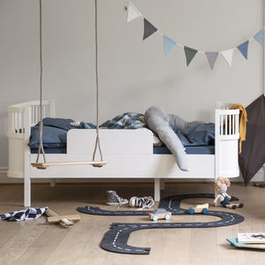 White Junior And Grow Bed - furniture