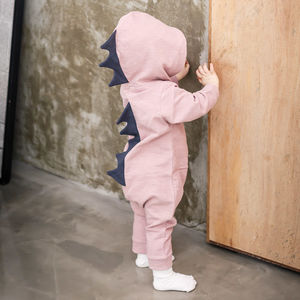 Personalised Dino Jumpsuit - gifts for babies
