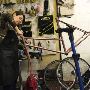Build Your Own Bike Workshop - dance music & sport