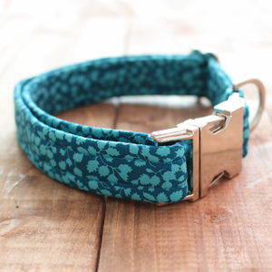 Jessica Jane Liberty Fabric Dog Collar - dogs