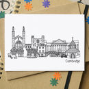 Cambridge Landmarks Greetings Card