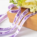Mother's Day 15mm Personalised Printed Ribbon